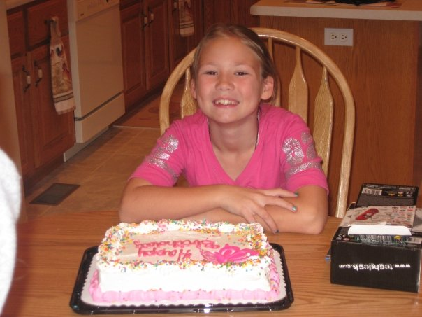 Caitlin Frangel 10th birthday cake