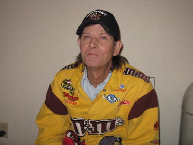 Rick A Cochran yellow racing jacket