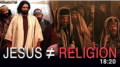 Why Jesus is Not About Religion
